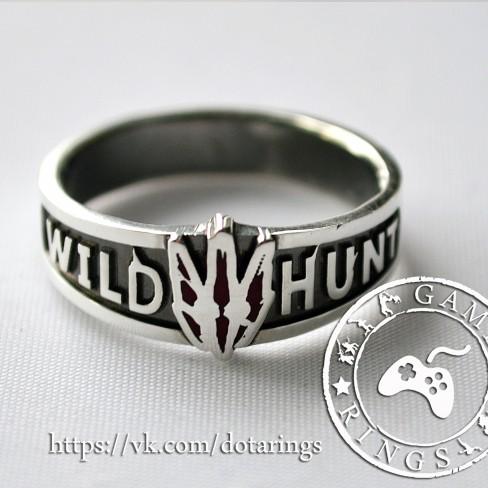 Серебряное кольцо Witcher (Ведьмак)