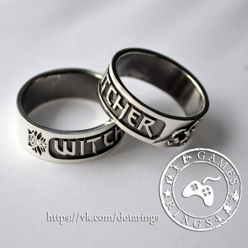 Обручальные кольца ведьмак